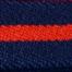 紺/赤ストライプ