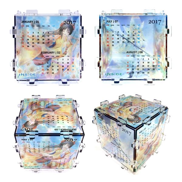 サイコローカレンダー(50個/1種類当から受付)